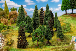 Faller Forest Trees 70-90mm (15) Multi Scale 181529