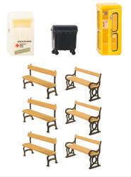Faller Town Accessories Building Kit HO Gauge 180452