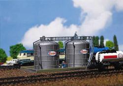 Faller Oil Storage Tanks Building Kit III N Gauge 222131
