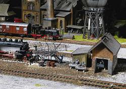 Faller Locomotive Depot Accessories Building Kit II N Gauge 222138