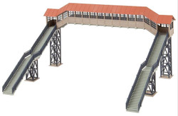 Faller Covered Footbridge Building Kit HO Gauge 120109