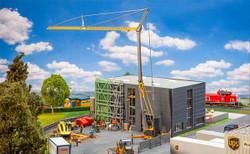 Faller Construction Tower Crane Building Kit HO Gauge 120285
