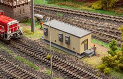 Faller Railway Communications Building Building Kit HO Gauge 120104