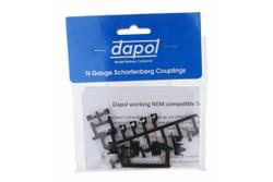 Dapol Scharfenburg Coupler (Short/Medium or Long) 1pr N Gauge 2A-000-029