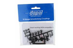 Dapol Scharfenburg Coupler (Short/Medium or Long) 1pr N Gauge 2A-000-029