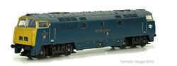 Dapol Class 52 D1043 Western Duke BR Chromatic Blue N Gauge 2D-003-015