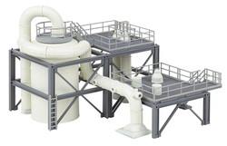 Faller Chemical Plant Equipment/Pipework Building Kit HO Gauge 130179