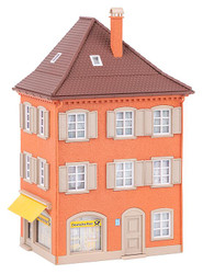 Faller Corner House with Post Office Building Kit HO Gauge 130617