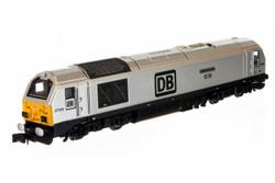 Dapol Class 67 029 Royal Diamond DB Silver N Gauge 2D-010-011