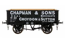 Dapol 5 Plank Wagon 9' Wheelbase Chapman & Sons 22 O Gauge 7F-052-004
