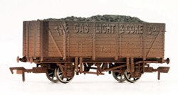 Dapol 9 Plank Wagon Gas Light & Coke Weathered OO Gauge 4F-090-004