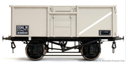 Dapol 16t Steel Mineral Wagon Welded BR Grey B258683 O Gauge 7F-030-015