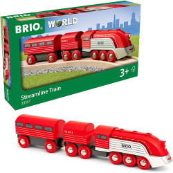 BRIO World 33557 Streamline Train for Wooden Train Set