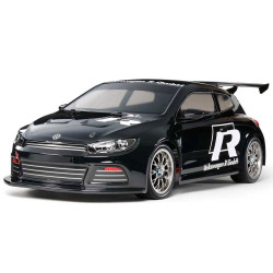 Tamiya RC 47452 Scirocco GT Black (TT-01E) Ltd Edition 1:10 RC Assembly Kit