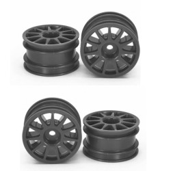 Tamiya RC 51665 M Chassis 11 Spoke Wheels x4  RC Spares / Accessories / Hops Ups