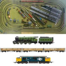 HORNBY Digital Train Set HL16 Jadlam 2020 Large Layout with 2 Trains