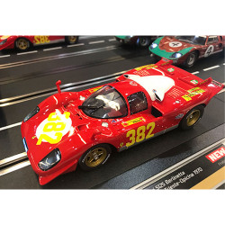 CARRERA 1:24 Slot Car CA23899 Ferrari 512S Berlinetta No.382 Triest-Opicina 1970