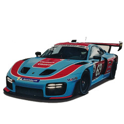 CARRERA 1:32 Slot Car CA27625 Porsche 935 GT2 No.96/69