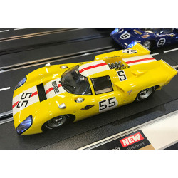CARRERA 1:24 Slot Car CA23897 Lola T70 MKIIIb No.55, Nürburgring 1.000km 1969