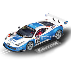 CARRERA 1:24 Slot Car CA23906 Ferrari 458 Italia GT3 Racing One, No.139