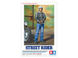 TAMIYA 14137 Street Rider Figure 1:12 Plastic Model Bike Kit