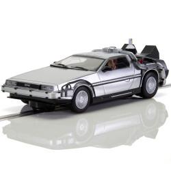 Scalextric Slot Car Delorean Back to the Future 2 C4249