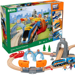 BRIO 33972 Smart Tech Sound - Action Tunnel Travel Set