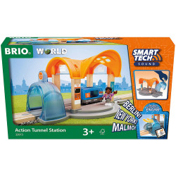 BRIO 33973 Smart Tech Sound Action Tunnel Station