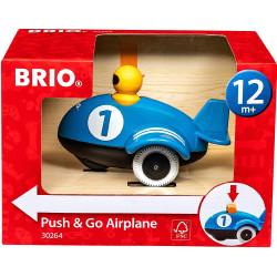 BRIO 30264 Push & Go Airplane