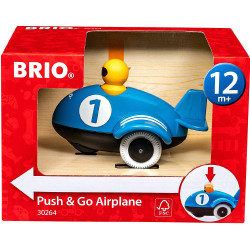 BRIO 30264 Push & Go Airplane