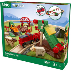 BRIO World 33984 Animal Farm Set