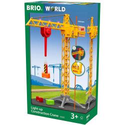 BRIO 33835 Light Up Construction Crane