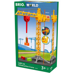 BRIO 33835 Light Up Construction Crane