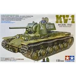 Tamiya 35372 Russian Heavy Tank KV-1F 1941 Early Prod. 1:35 Plastic Model Kit