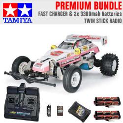 TAMIYA RC 58354 The Frog - Off Road Racer 1:10 Premium Stick Radio Bundle