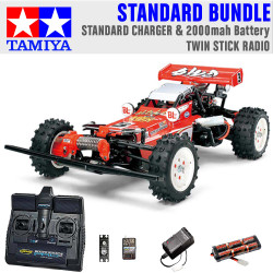 TAMIYA RC 58391 Hot Shot 2007 1:10 Standard Stick Radio Bundle