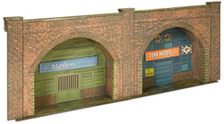 Superquick Red Brick Embankment Arches Card Kit OO Gauge C8