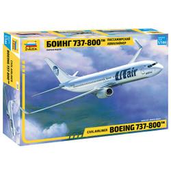 ZVEZDA 7019 Boeing 737-800 1:144 Aircraft Model Kit