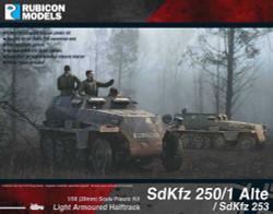 Rubicon Models 280032 Sdkfz 250/1 Alte & Sdkfz 253 1:56 Plastic Model Kit