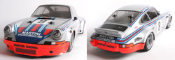 TAMIYA RC 58571 Porche Carrera RSR Martini TT-02 4WD 1:10 Assembly Kit
