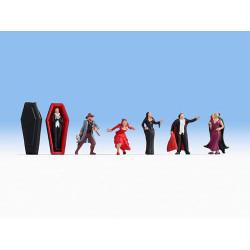 NOCH Vampires (6) Figure Set HO Gauge Scenics 15801