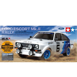 TAMIYA RC 58687 Ford Escort MK.II Rally PB (MF-01X) 1:10 4WD Assembly Kit