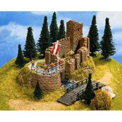 NOCH Castle Ruin Hard Foam Building 16x13x10cm HO Gauge Scenics 58602
