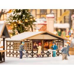 NOCH Christmas Market Stall Laser Cut Minis Kit HO Gauge Scenics 14682