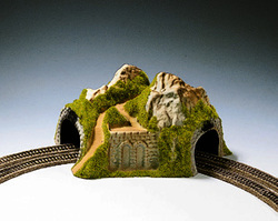Noch Double Track Curved Tunnel 23x22x12cm N Gauge 34730