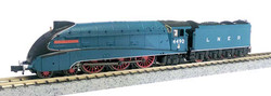 Dapol A4 Valanced 4490 Empire of India LNER Garter Blue N Gauge DA2S-008-009