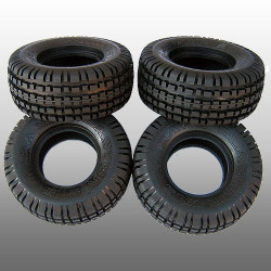 TAMIYA 9400554 Tyres (4 pcs) for 58384 - RC Car Tyre Spares