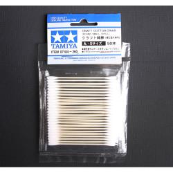 TAMIYA 87104 Cotton Swab (round small x 50) - Tools / Accessories