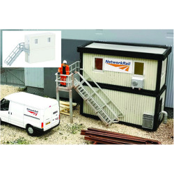 GAUGEMASTER Fordhampton Site Office Plastic Kit OO Gauge GM422