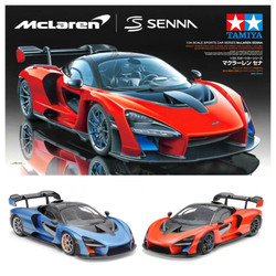 Tamiya 24355 Mclaren Senna 1:24 Plastic Model Car Kit